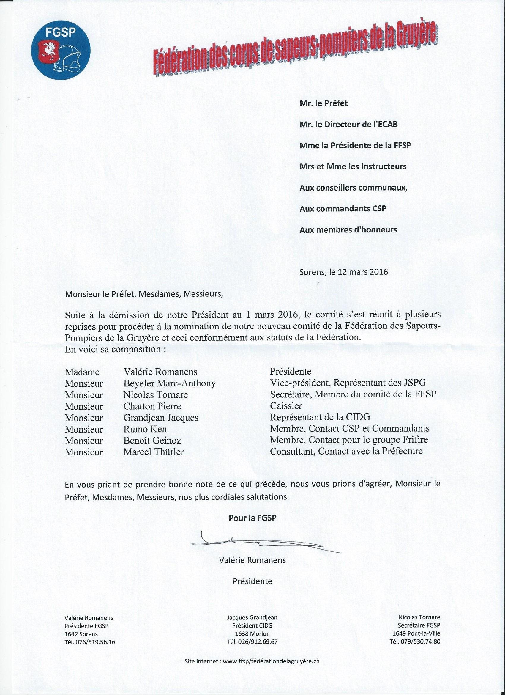 Nouveau comité FGSP 2016 001